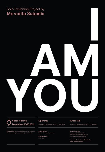 Poster I am You 004