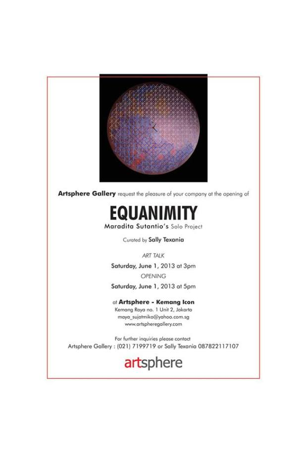 Solo Project; EQUANIMITY
